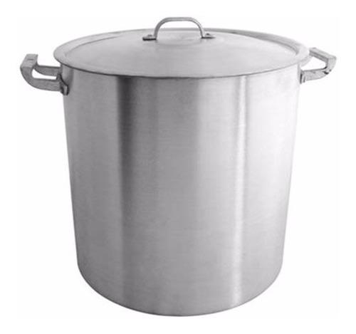 olla gastronomica nº40 de aluminio 50 litros reforzada