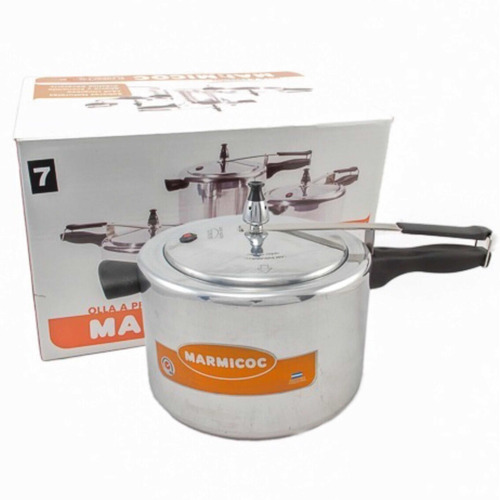 olla marmicoc presion t07 válvula de seguridad 7 litros