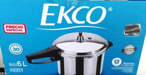 olla presion express ekco 6 lt !! super oferta !
