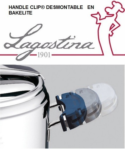 olla presion lagostina  de 7 litros