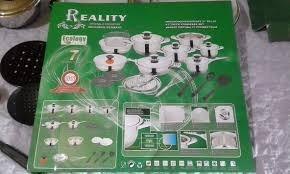 ollas acero quirúrgico reality calidad y garantía