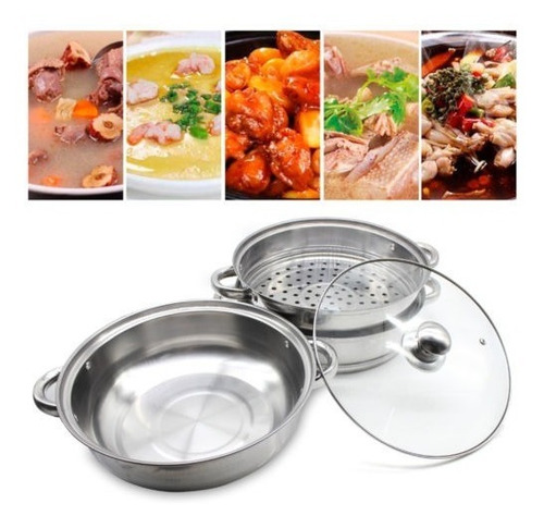 ollas de 3 niveles cocina de vapor cocina cocinas de vapor