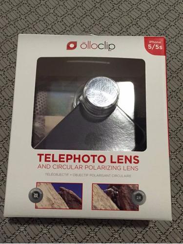 olloclip telephoto + polarizada para iphone 5/5s e 6se