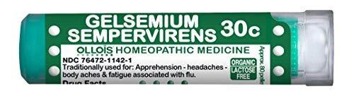 Ollois Lactose-free Gelsemium Sempervirens 30c Pellets 80 Co
