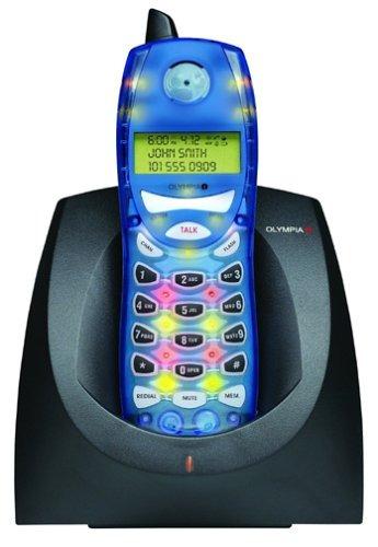 olympia ol2430lb teléfono inalámbrico analógico de 2,4 gh