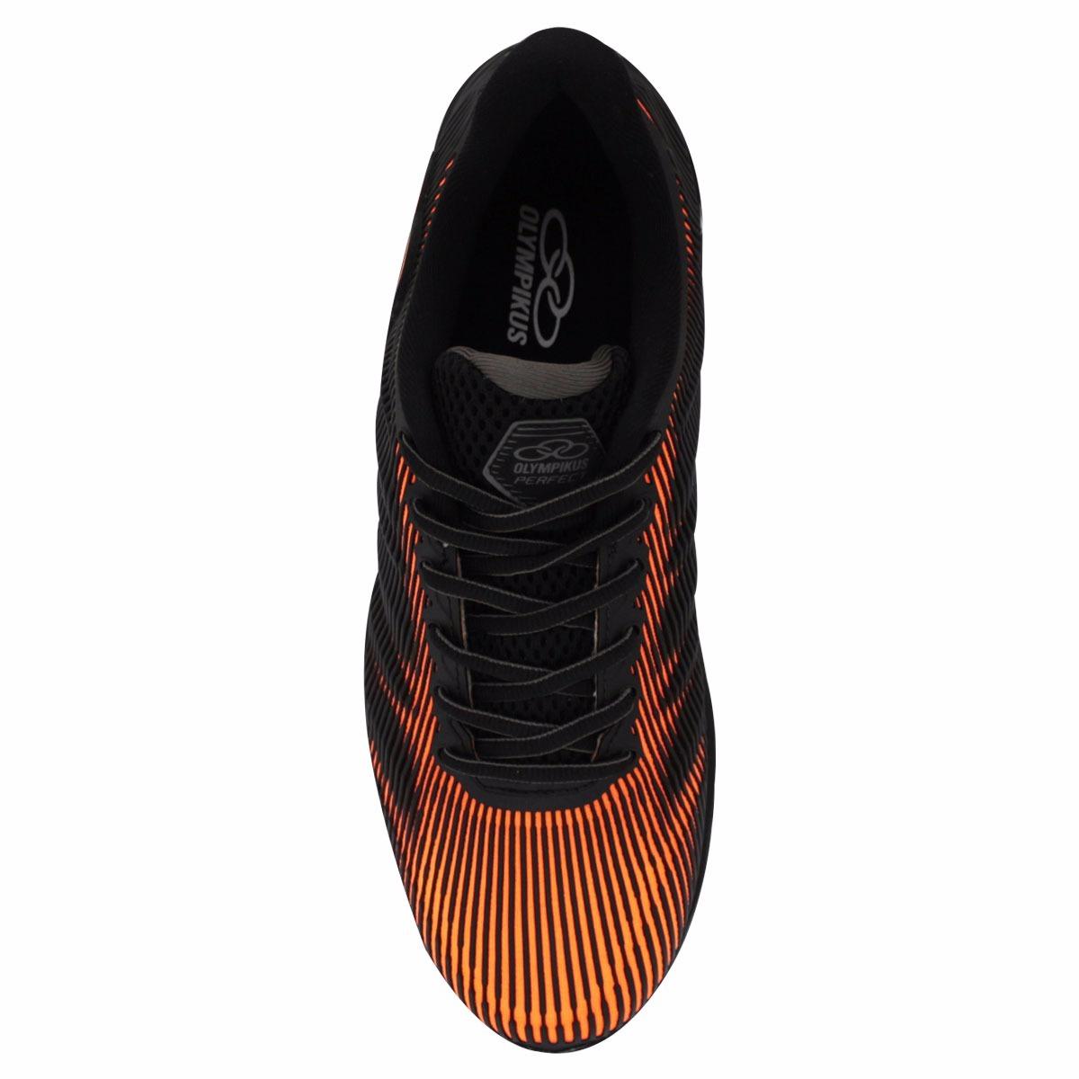 39e41a26262 Carregando zoom... tênis olympikus perfect masculino 3d preto com laranja