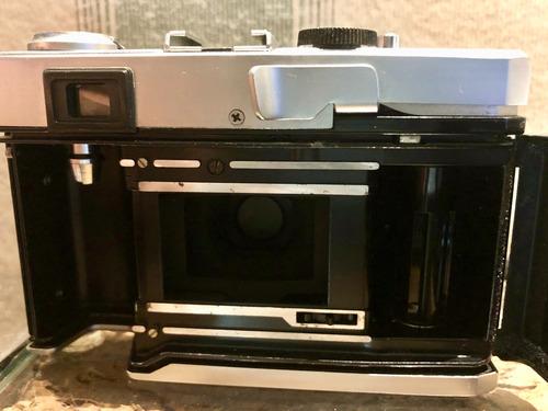 olympus 35 rc rangefinder 42mm f/2.8 35mm revisada excelente