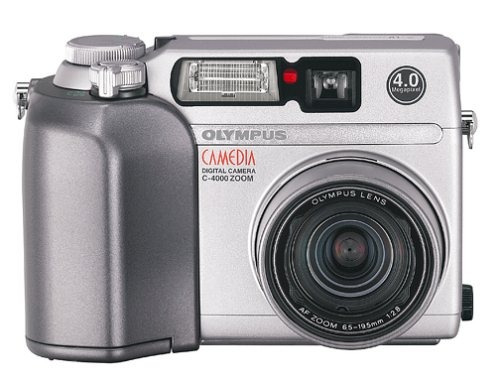olympus camedia c-4000zoom óptico de 4mp cámara digital
