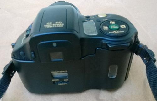 olympus is-10 analógica 35 mm camera máquina fotográfica