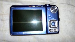 olympusfe-330 blue 8.0 mp digital camera w/5xoptical zom op4
