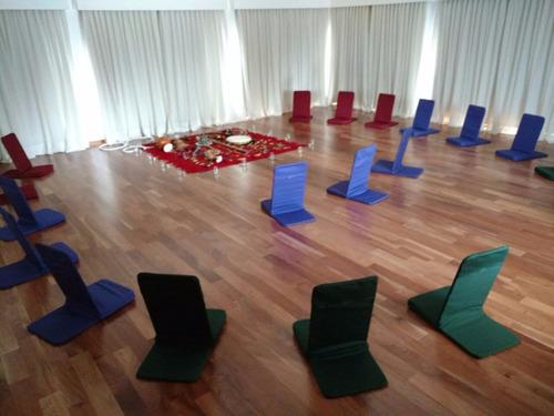 om sillas para meditación