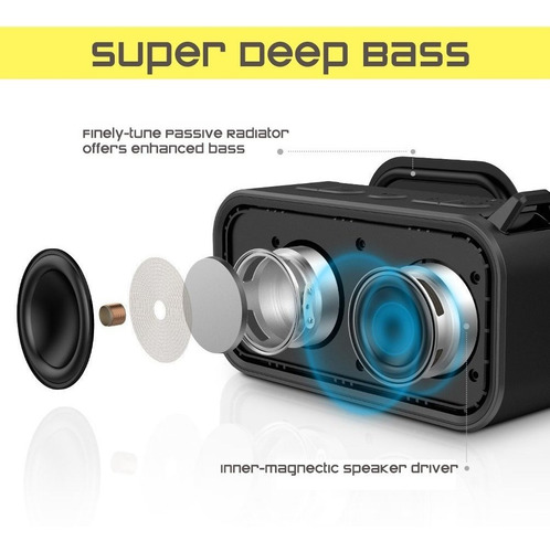 omaker m6 altavoces portátiles bluetooth para la estereofoni