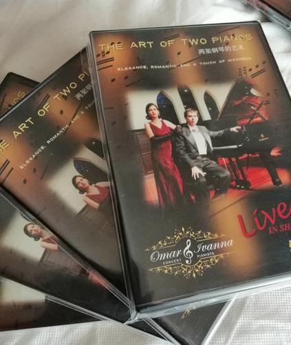 omar e ivanna dvd el arte a dos pianos edición especial.