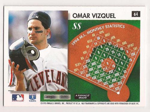 omar vizquel score 1995 # 64 - grl