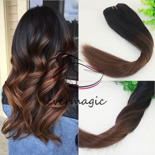 ombre highlight de balayage marr n oscuro pelo 24 inch en mercado libre. Black Bedroom Furniture Sets. Home Design Ideas