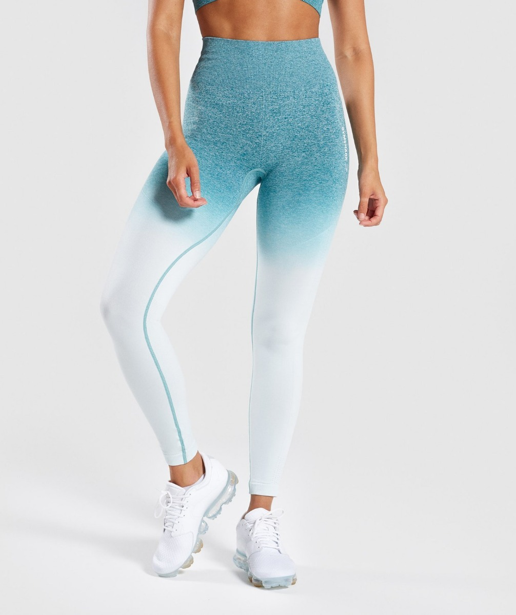63afc15f8692e ombre seamless gymshark leggings mujeres gym yoga fitness. Cargando zoom.