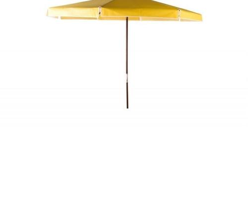 ombrellone bagum 3,00m madeira amarelo