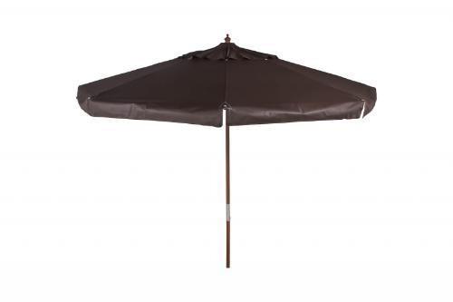 ombrellone bagum 3,00m madeira vermelho
