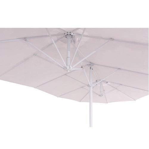 ombrellone retangular oversiza 4,60 x 2,30 m
