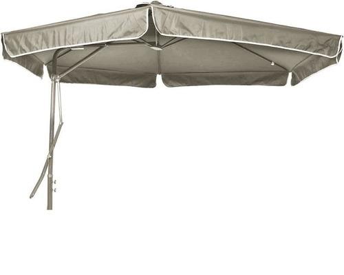ombrellone suspenso regulagem alavanca 3m bege 8200