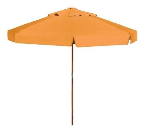 ombrelone 2,40 m com abas laranja