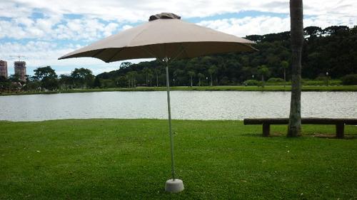 ombrelone centerflex de 3m de diametro-frete grátis
