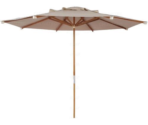ombrelone madeira 2,40 metros - consulte o frete
