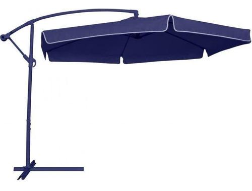 ombrelone praia guarda sol suspenso com regulagem 2,5 metros