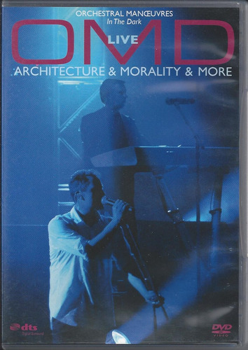 omd live architecture & morality & more dvd importado