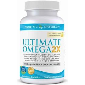 Omega 3 / 1000 Mg Epa + Dha  Ultimate 2x /  60 Capsulas