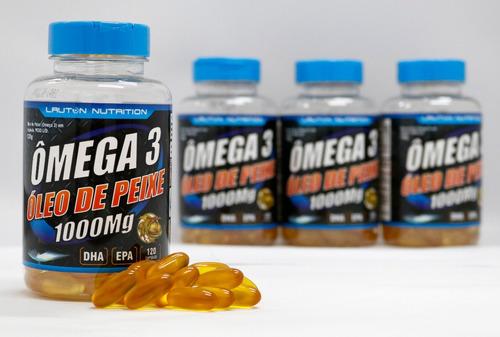 omega 3 1000mg - 120 caps lauton nutrition