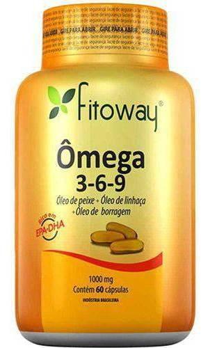 omega 3-6-9 1000mg - 60 cápsulas
