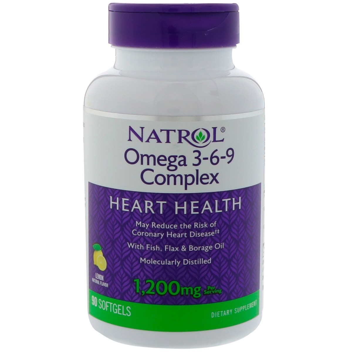 791b949926f Características. Marca Natrol  Nome Natrol® Omega-3-6-9 Complex Lemon   Formato do suplemento Cápsulas ...