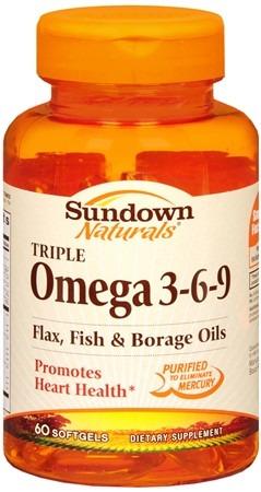 Omega 3 6 9 fish oil sundown 60 c psulas importado r 99 for Fish oil beneficios