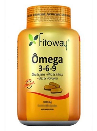 omega 3-6-9 fitoway - 120 cápsulas - fitoway