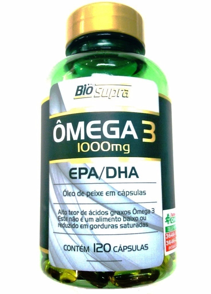 216328360ae5 omega 3 catarinense 1000mg 120 cápsulas bio supra. Carregando zoom.
