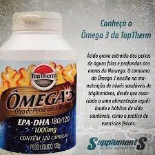 8b1b2daec Omega 3 Epa-dha 180 120 1000mg Toptherm - R  149
