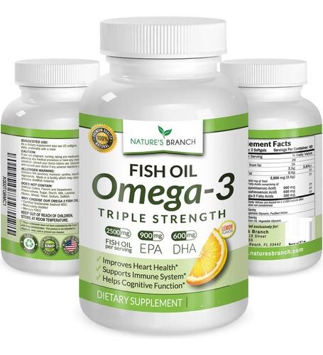 omega 3 farma (mayor potencia epa + dha) 2.500 mg 180 caps