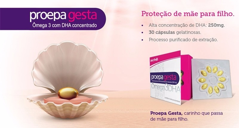 faccd9f48d3 omega 3 proepa gesta dha elevado c 30 cápsulas gestantes. Carregando zoom.