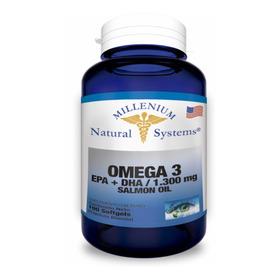 Omega 3 Salmón Epa + Dha 1300mg 100 Softgels Natural Systems