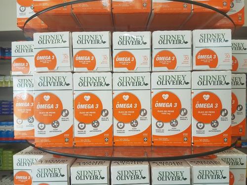 omega 3 sidney oliveira 300 cps 10 cx de 30cps r$12,00 cada