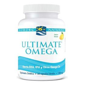 Omega 3 Ultimate Nordic Usa Dosis 1000mg Fish Oil Dha Y Epa