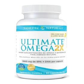 Omega 3 Ultimate X2 Doble Dha Y Epa Usa 1000mg Fish Oil