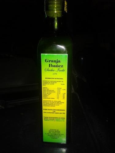 omega 3,aceite de sacha inchi.