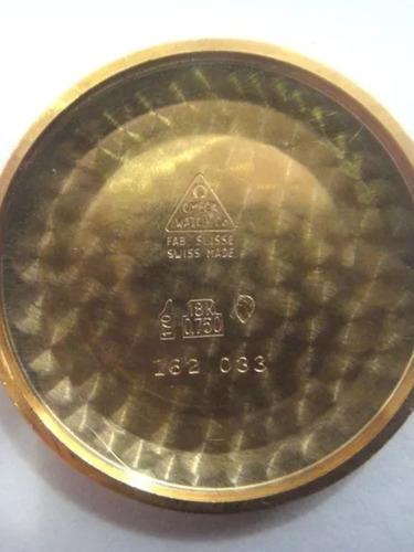 omega automático em ouro maciço 18k