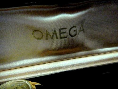 omega bumper militar  na caixa original para colecionadores