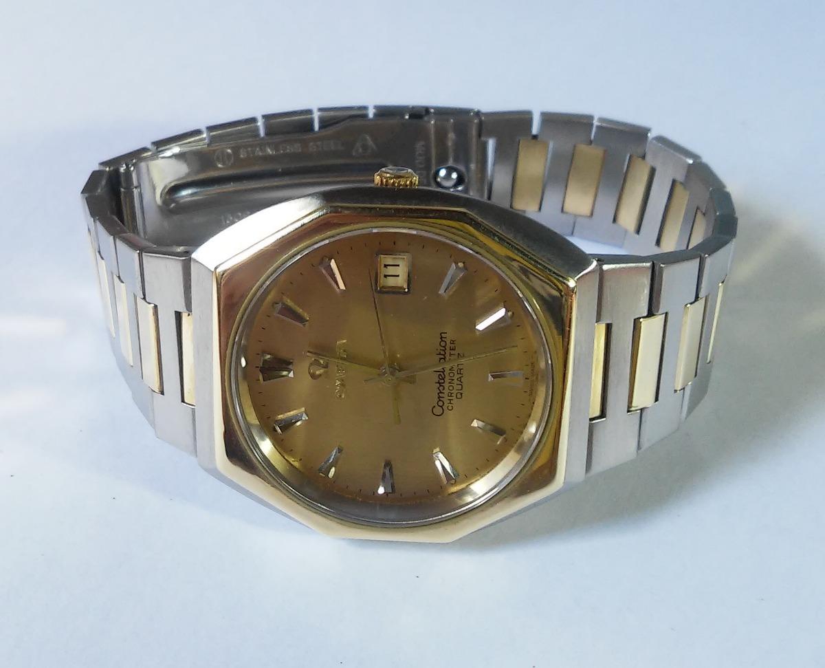 e65bf87229d omega constellation aço ouro 18k 100% original impecável. Carregando zoom.