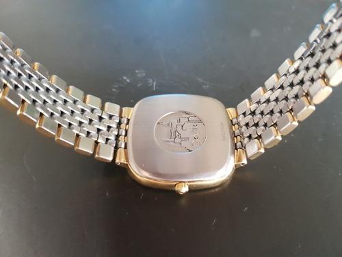 omega deville acero y chapa de oro vintage cal.1430