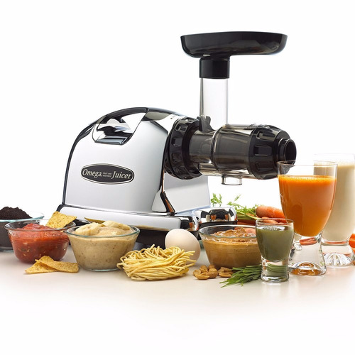 omega j8006 nutrition center juicer - negro y chrome
