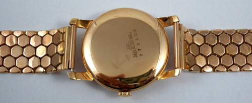 omega - masculino - ouro rosado - vintage - manual